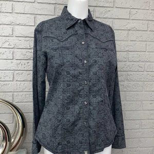 The North Face Western Style Shirt Size M